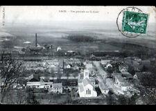 LAON (02) GARE , USINE & VILLAS en 1912