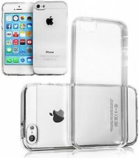 COVER CUSTODIA TRASPARENTE PER IPHONE 5 5S TPU Silicone Ultra Slim