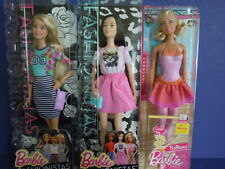 BIGGEST SALE ! BARBIE FASHIONISTAS LOT WITH BALLERINA BARBIE YOU GET ALL 3 DOLLS