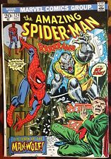 Amazing Spider-Man #124 (Marvel,1973) 1st app Man-Wolf Romita KEY!! (FN/VF)