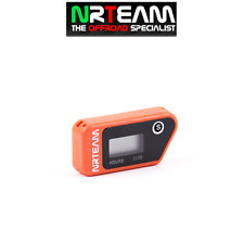 NRTEAM CONTAORE WIRELESS CROSS ENDURO VIBRAZIONE VIBRATION HOUR MOTO ARANCIONE