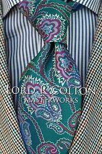 Lord R Colton Masterworks Tie - Trindade Emerald Woven Silk Necktie - $195 New
