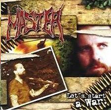 MASTER - Lets start a war CD (SystemShock,2001)  *rare OOP Death Metal