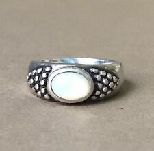 Vintage Sterling Silver Ring Signed ESPO SIG (Joseph Esposito) 7.5 Grams Size 8