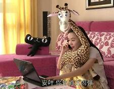 """Cute 90cm 35"""" Stuffed Cartoon Giraffe Big Size Funny Plush Animal Doll Soft Toy"""