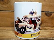 300ml COFFEE MUG, DINKY TOYS POLICE MINI COOPER