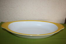 Wonderful World Auflaufform oval/Gratinform 39 cm Yellow Villeroy&Boch Vilbofour