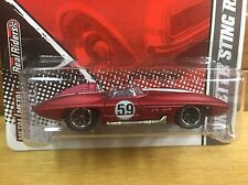 Hot Wheels 2010 Garage Corvette Sting Ray Red w/RR Real Riders