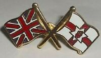 union jack red hand of ulster lapel badge oranger order ulster scots loyalist