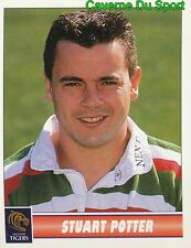 079 STUART POTTER  LEICESTER TIGERS STICKER PREMIER DIVISION RUGBY 1998 PANINI