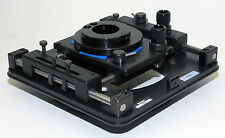 Optem 28-90-78 2 Axis Video Microscope XY Positioner From Wafer Inspection Probe