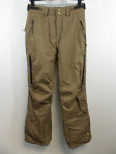Protest Girl Womens Studded Ski Pant Brown Large rrp £110 Box3422 F