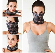NECK HEADWEAR BANDANA COOL MULTI SCARF BICYCLE MASK CAMO BIKE UV Protection