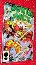 Power Pack  #18  comic   d    1986  Secret Wars II