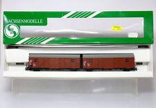 Sachsenmodelle 16008  H0  Leig-Einheit Hrs-z 330 der DB , KKK  , wie neu in OVP