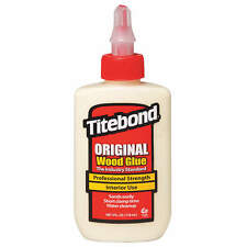 TITEBOND 4 oz. Heat- and Solvent-Resistant Wood Glue,  Original,  Yellow 5062