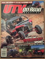 UTV Offroad Magazine Arctic Cat Wildcat Sport Kymco Mar Apr 2015 FREE SHIPPING