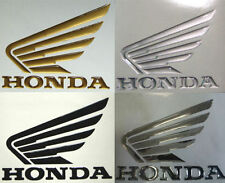 Coppia Adesivi Resinati Stickers 3D HONDA HORNET ALI in rilievo - 3D HONDA WINGS
