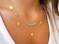 Fashion Women 18K Gold Plated Clavicle Chain Triangular Pendant Necklace Jewelry