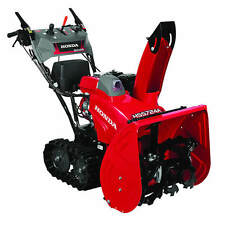 "Honda HSS724ATD (24"") 196cc Two-Stage Track Drive Snow Blower w/ 12-Volt Elec..."