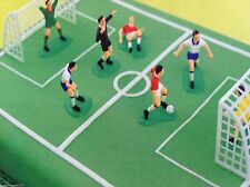 Footballers and goal posts Football Cake toppers decorations  NEXT DAY DESPATCH