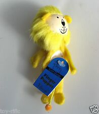 "LION - WOODEN HEADED ""TELL A TALE"" FINGER PUPPET BY FIESTA CRAFTS - BRAND NEW!"