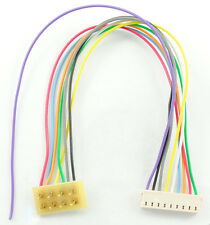"""TCS DCC 1361 3.5"""" Harness  9-pin JST to 8 pin NMRA TRAIN CONTROL - MODELRRSUPPLY"""