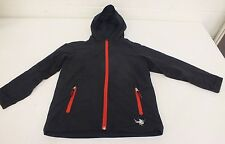 Spyder Black Fleece Lined Hooded Jacket Youth Size Medium GREAT Fast Shipping