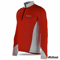 Mens Cycling Jersey New Long Sleeve Bike Top Outdoor Wear Sports Biking Shirt
