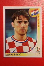 PANINI KOREA JAPAN 2002 # 478 HRVATSKA SIMIC WITH BLACK BACK MINT!!!