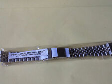 SEIKO STAINLESS STEEL JUBILEE BRACELET 20MM  MEDIUM  FOLDED TYPE