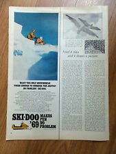 1969 Ski-Doo Snowmobile Ad So Tough Enough to Conquer the Arctic