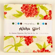 Moda Charm Pack Aloha Girl - pre cut 5 inch squares 100% cotton