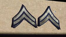 WW2 US ARMY MILITARY CHEVRONS Bevo Early Corporal Grade 5