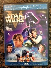 Star Wars : The Empire Strikes Back (2-DVD,2006,Limited Edition,) Authentic US