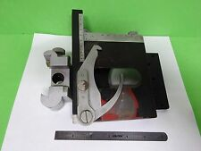 MICROSCOPE PART REICHERT AUSTRIA ZETOPAN STAGE TABLE MICROMETER AS IS BIN#60-RE1