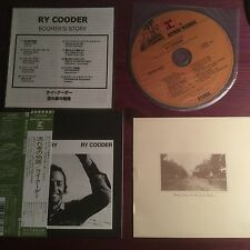 RY COODER BOOMER'S STORY CARDBOARD SLEEVE MINI LP JAPAN CD WPCR 12692 WITH OBI