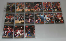 1992-93 Ultra Fleer All NBA Team komplettes Set mit Michael Jordan