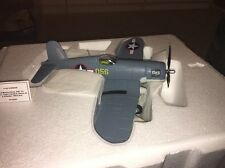 Franklin Mint Armour Diecast Airplane F-4U Corsair 98091 B11B220 1:48