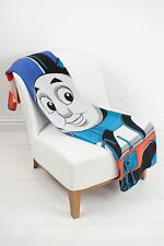 EXTRA LARGE Thomas the Tanke Engine Team Fleece Blanket Snuggle Throw Kids Boys