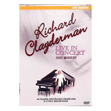 Richard Clayderman - Live in Concert DVD (*New *Sealed *All Region)