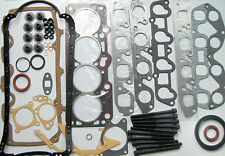 FORD FIESTA ESCORT 1.6 RS TURBO HEAD GASKET SET BOTTOM END SET HEAD BOLTS CVH 8V