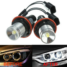 2x LED HALO RING ANGEL EYE MARKER SIDE LIGHT BULB FOR BMW E39 WHITE US