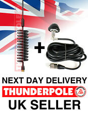 Thunderpole Orbitor Antenna + Body Mount Kit | Springer CB Radio Aerial DV Lead