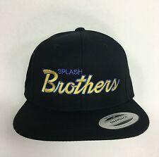SPLASH BROTHERS SNAPBACK BLACK HAT GOLDEN STATE WARRIORS KLAY CHEF CURRY NEW