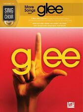 Sing With The Choir More Songs From GLEE Learn Pop Rock Vocal Music Book &CD