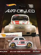'60's Fiat 500D Modificado * AIR Cooled Car Culture Case H * 2017 Hot Wheels