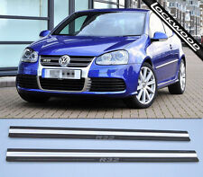 VW Golf Mk5 R32, (approx. '03 to '09) 2 Door Sill Protectors / Kick plates
