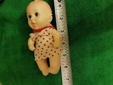 "Gerber 6"" Soft Vinyl rubber  Baby boy Doll lucky industry 1989"