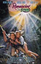 "Romancing The Stone movie poster : 11"" x 17"" : Michael Douglas, Kathleen Turner"